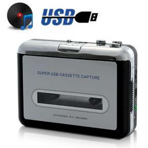 Unotec Safty Conversor Cintas Cassette USB ADAPTADOR-CASSETE-USB