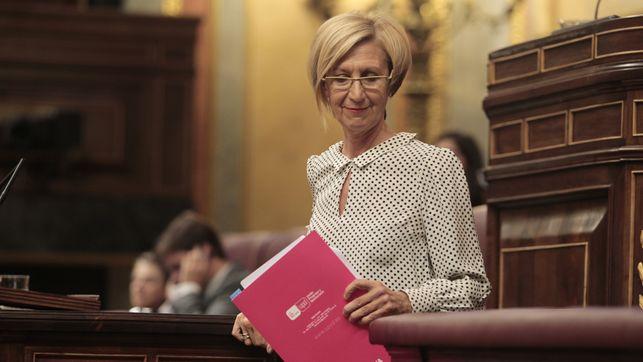Rosa Díez respalda al presidente de la Comunidad de Madrid y defiende regular el derecho a la huelga