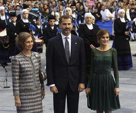 """Los Príncipes de Asturias, recibidos con una versión de Iron Maiden """"contra el reinado de terror..."""