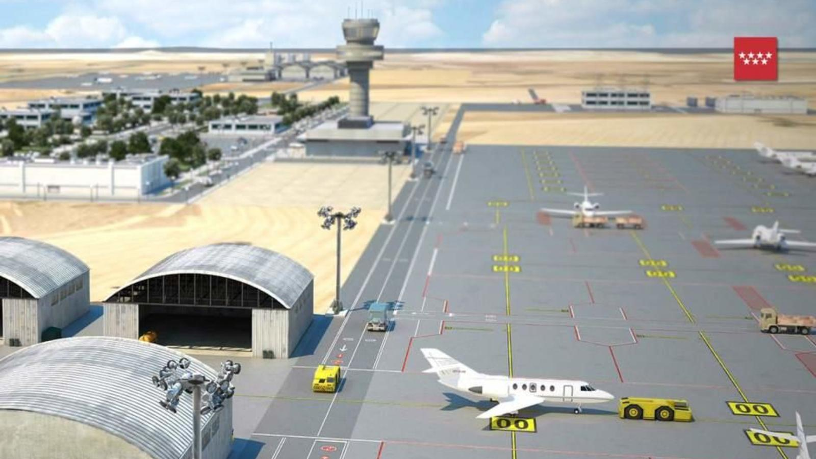 Aeropuertos: El nuevo aeropuerto privado de Madrid, todo un pelotazo para condes y duques