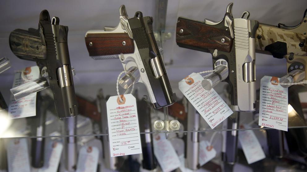 Las pistolas, lo más vendido en el 'Black Friday' en EE.UU.