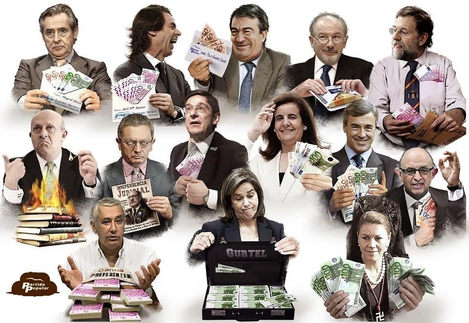 100 motivos para no votar al Partido Popular el 20D