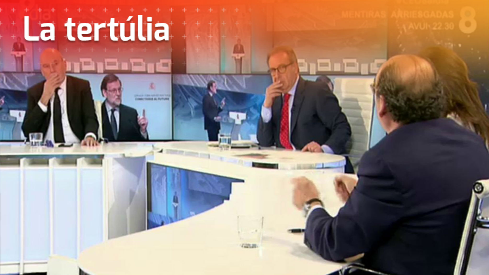 La tertúlia, sobre els resultats del CEO - 8 al dia amb Josep Cuní - 8TV
