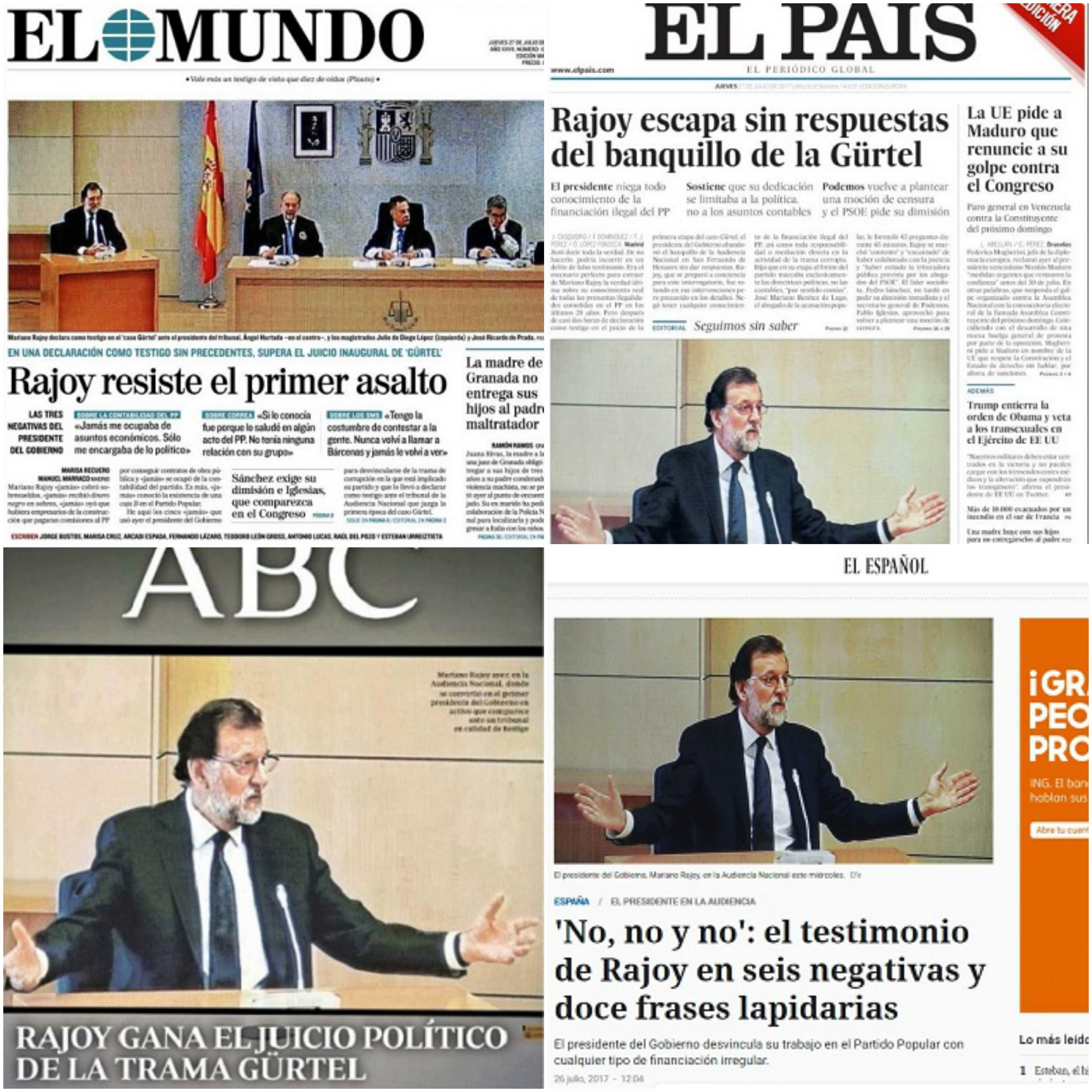 """Rajoy evita el escándalo porque tiene """"medios"""""""