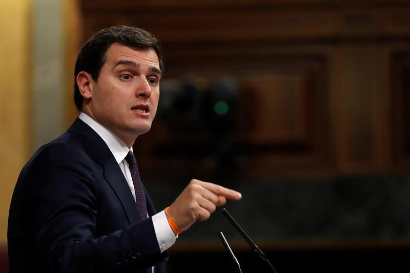 Albert Rivera le dice al Gobierno que el 'triunfalismo sobra' y reclama reformas laborales y fiscales