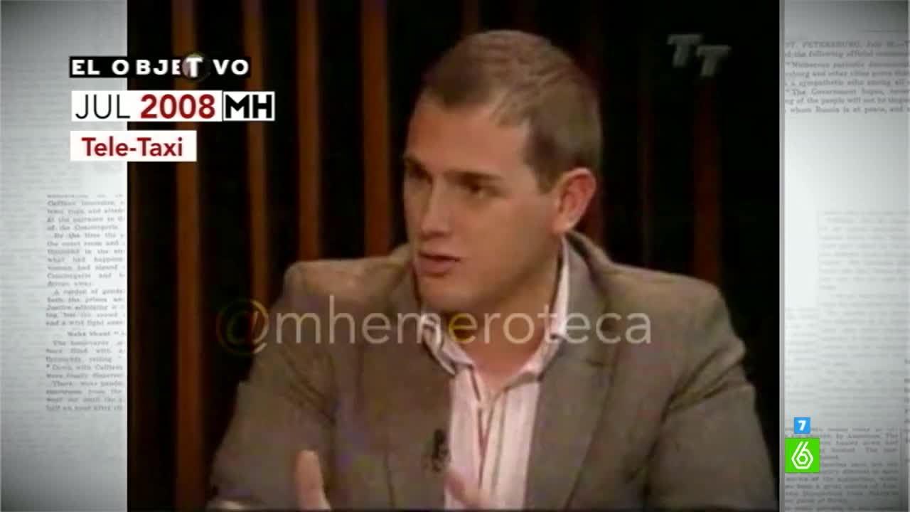 Maldita Hemeroteca | Albert Rivera, en 2008: